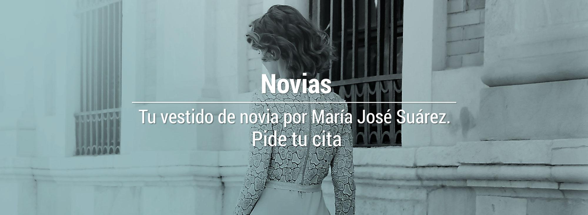 Vestidos de novia. María José Suárez