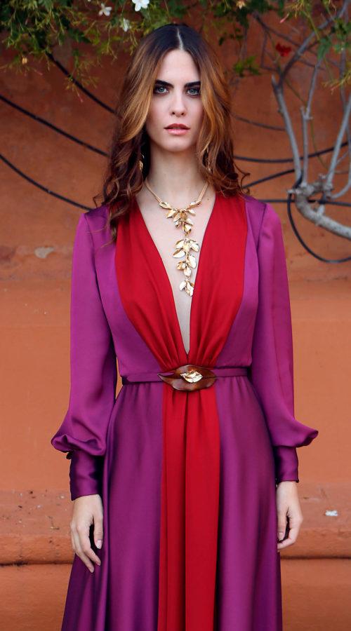 Vestido Julianne María José Suárez