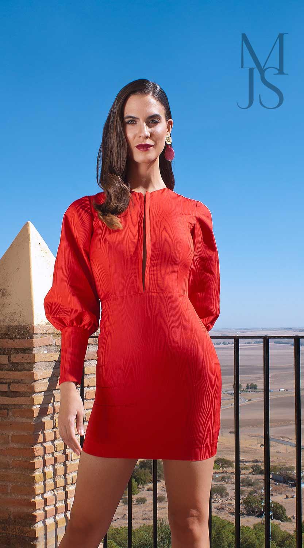 Gamma Mini - Rojo Muaré | María José Suárez